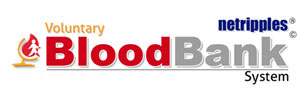 Voluntary Blood bank Logo